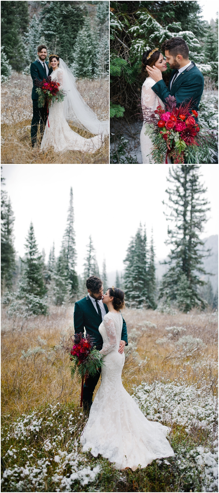 004Alternative Wedding Photographer Green Suit Utah Wedding Photographer Amy Cloud Photography