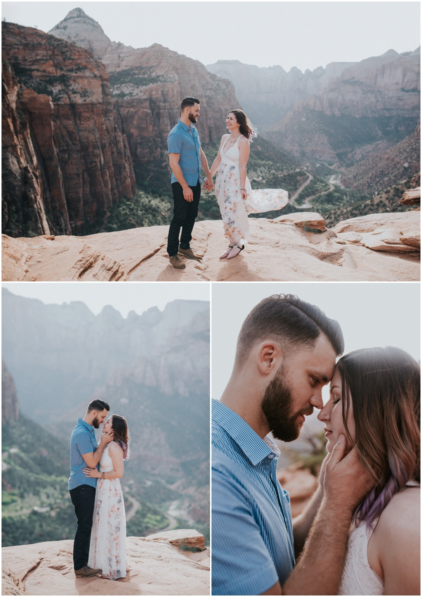 001Amy Cloud Photographer Zion National Park Engagment Session Epic Wedding Photography
