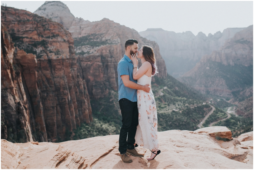 002Amy Cloud Photographer Zion National Park Engagment Session Epic Wedding Photography