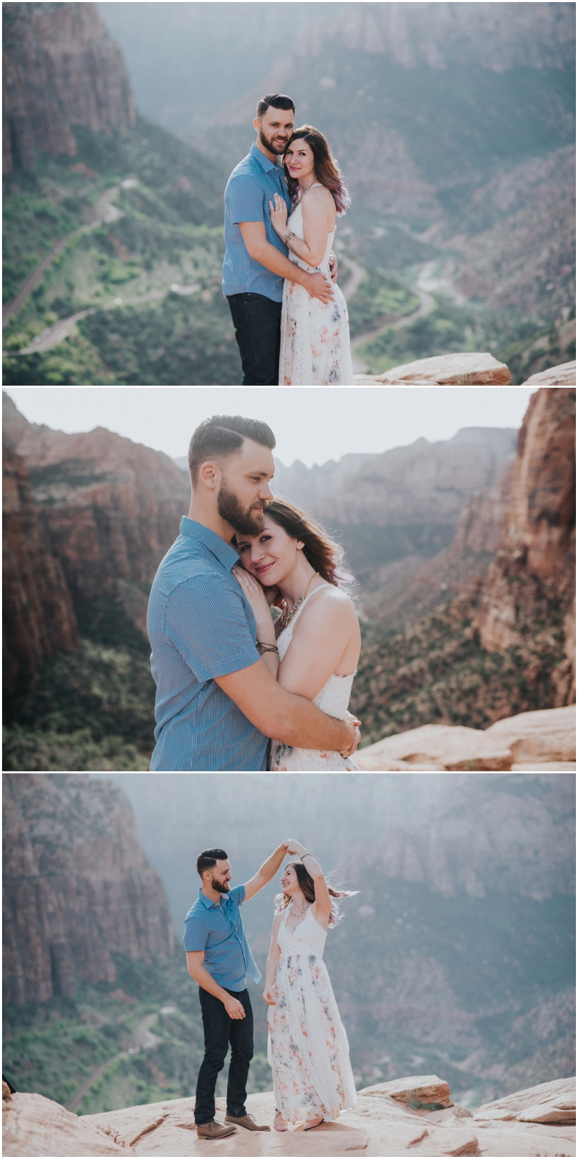 003Amy Cloud Photographer Zion National Park Engagment Session Epic Wedding Photography