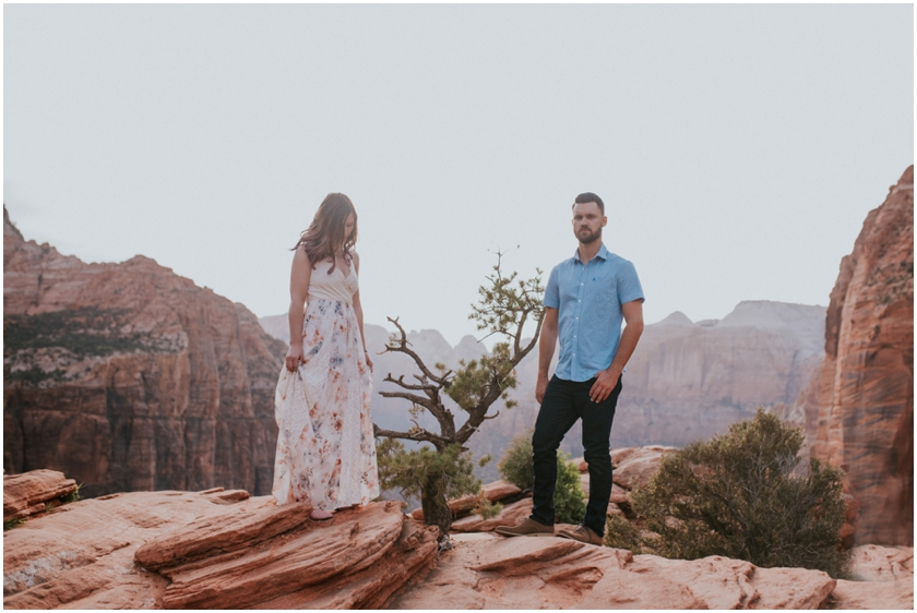 008Amy Cloud Photographer Zion National Park Engagment Session Epic Wedding Photography