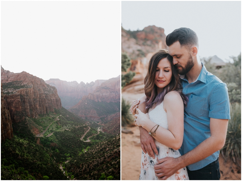 010Amy Cloud Photographer Zion National Park Engagment Session Epic Wedding Photography