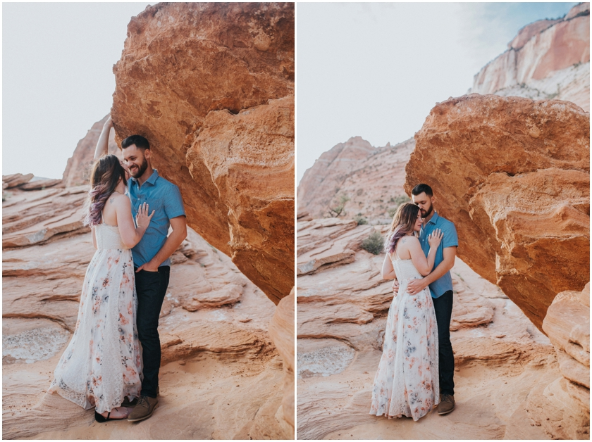 014Amy Cloud Photographer Zion National Park Engagment Session Epic Wedding Photography