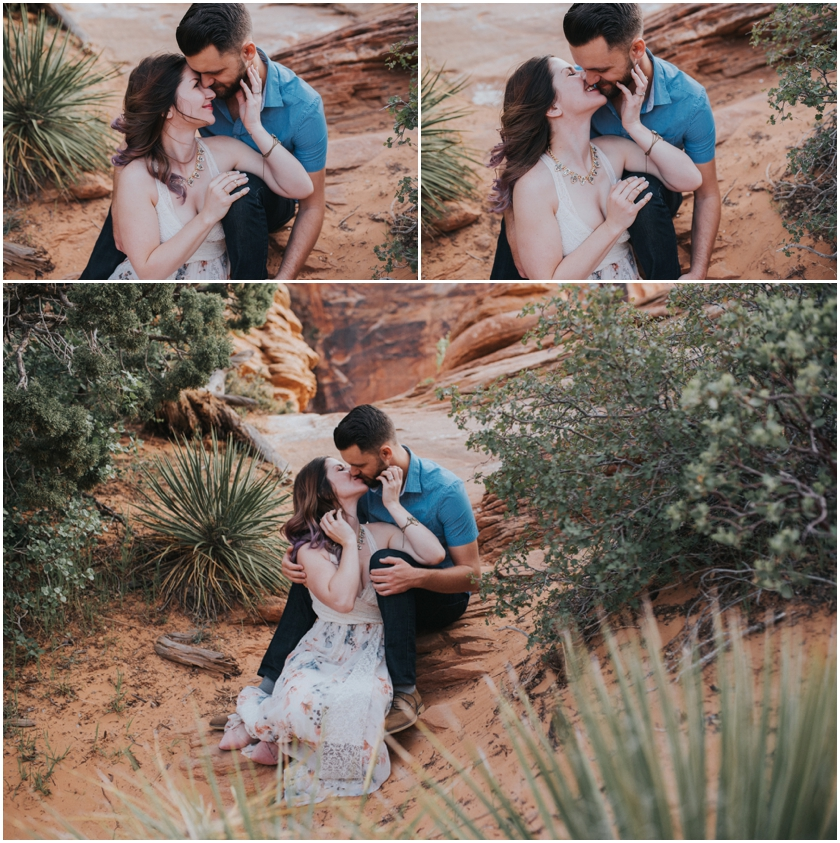 016Amy Cloud Photographer Zion National Park Engagment Session Epic Wedding Photography