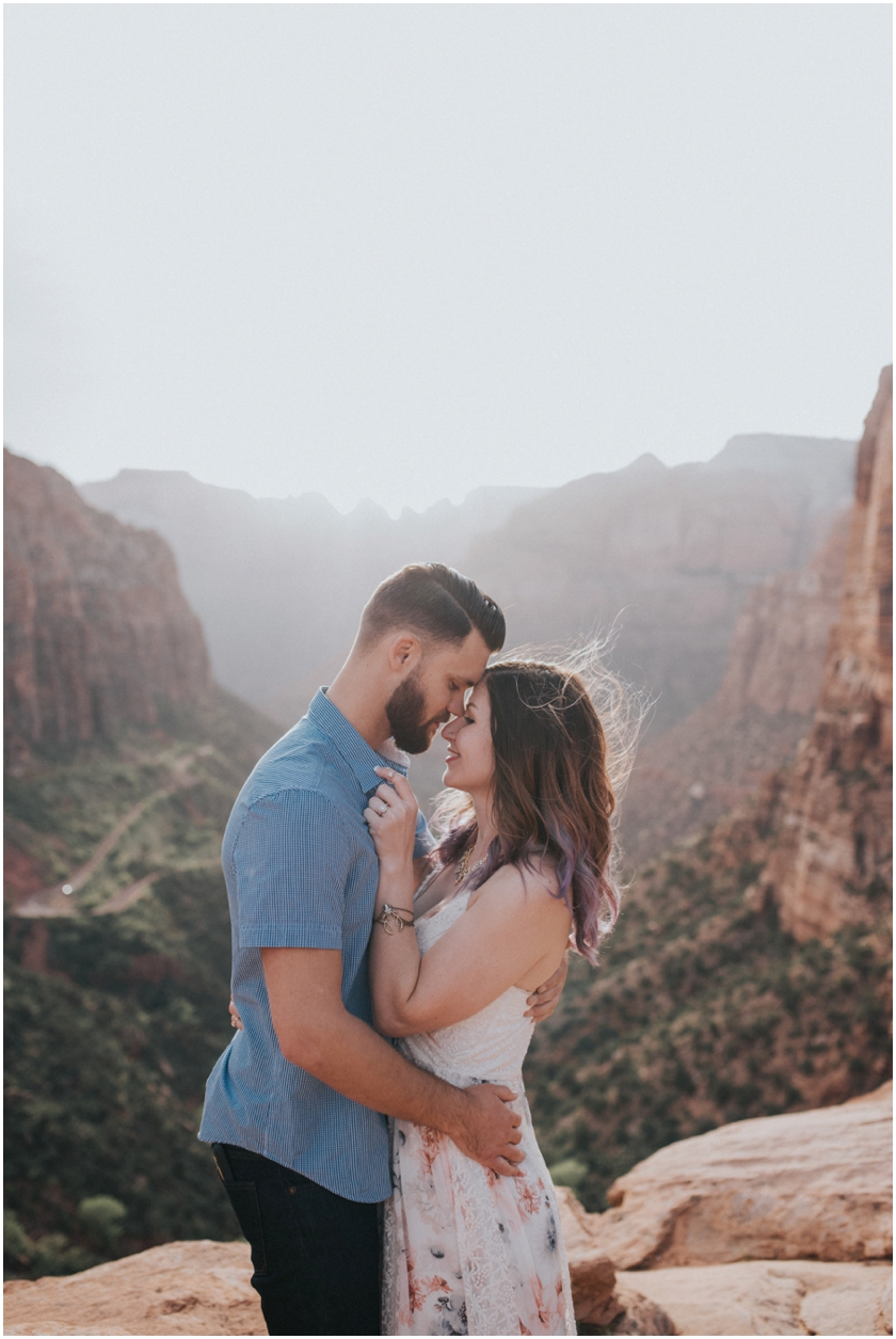 018Amy Cloud Photographer Zion National Park Engagment Session Epic Wedding Photography