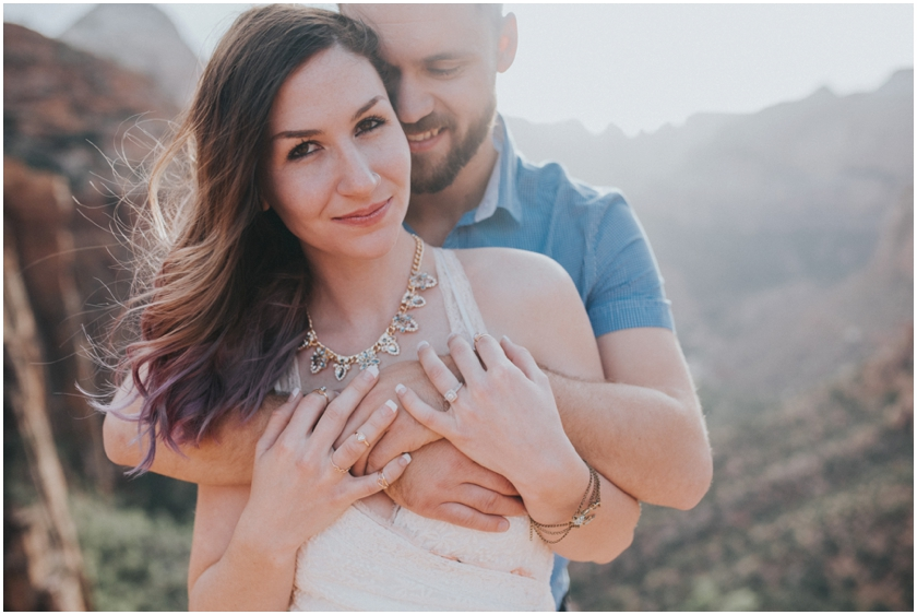 022Amy Cloud Photographer Zion National Park Engagment Session Epic Wedding Photography